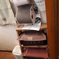 介護用品/トイレ収納/トイレ 我が家のトイレです。現在義母の介護中です…(2枚目)