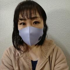 アロマdeマスク | AROMA de mask(アロマグッズ)を使ったクチコミ「手持ちのマスクにペタッと貼るだけ。 仕事…」(2枚目)