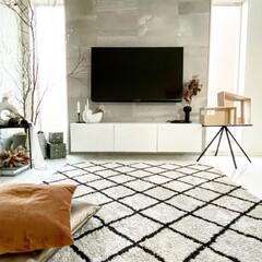 海外インテリア/BESTA/IKEA/hmhome/リビングインテリア/テレビボード/... リビングです♡