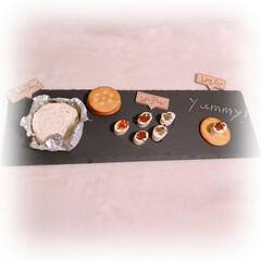 BRUNO マルチスレート ロング 幅40×奥行13×高さ0.6cm) | IDEA INTERNATIONAL(皿)を使ったクチコミ「BRUNOのマルチスレートプレートです。…」(1枚目)