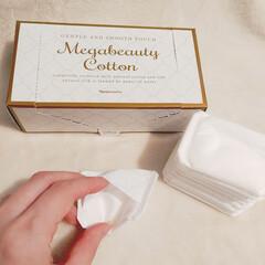 ルクエ2 角質クリアセット オールパーパスローション125ml メガビューティコットン1箱80枚入り   ナリス化粧品(化粧水)を使ったクチコミ「2015年から5年間、国内販売シェアNo…」(3枚目)
