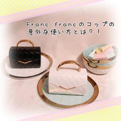 アイディア/フランフラン食器/ブラシホルダー/メイクブラシ/ブラシ収納/フランフラン/... 以前、Francfrancで面白いコップ…