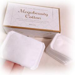 ルクエ2 角質クリアセット オールパーパスローション125ml メガビューティコットン1箱80枚入り   ナリス化粧品(化粧水)を使ったクチコミ「2015年から5年間、国内販売シェアNo…」(2枚目)