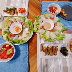簡単レシピ/今日の晩ご飯/おうちごはん/ランチ/簡単/暮らし *野菜がたっぷり取れる生春巻* ↓↓↓ …