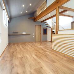 バリアフリー/木の家/自然素材/高澤建築有限会社 車いすによる快適な生活を スロープも無い…