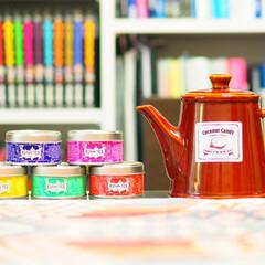 リビング/インテリア/リビングに絶対あるインテリア/お茶/ティーポット/リビングあるある わが家のティーポットとお気に入りのお茶で…