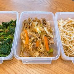 お弁当/常備菜/おうちごはん/うちの定番料理 お弁当用の常備菜です⭐️ まとめて作っち…