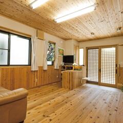 自然素材/無垢材/無垢杉の床/無垢の天井/健康住宅/アレルギー対策/... 東京都東村山市の工務店 《完全自由設計の…