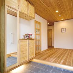 自然素材/無垢材/無垢杉の床/健康住宅/アレルギー対策/エコ/... 東京都東村山市の工務店 《完全自由設計の…