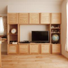 自然素材/無垢材/無垢床/アローズホーム/多摩の杜/八国の杜/... . ~収納するものに合わせて  無垢材で…