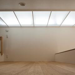 インテリア/北欧インテリア/トップライト/ロフト/小屋裏部屋/収納/... コンパクトで可愛い家 光あふれるロフト、…