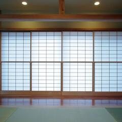 インテリア/和モダン/和室/和風/縁側/広縁/... ぐるりと廻れる和室のある家 縁側と和室と…