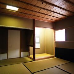 茶室/和室/床の間/和モダン/和/自然素材/... 茶室、床の間、4畳半台目