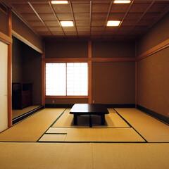 和室/和モダン/床の間/茶室/聚楽/自然素材/... 障子の光の家 お茶事のできる和室