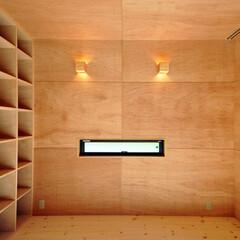 壁面収納/インテリア/北欧インテリア/住まい/不動産・住宅/建築/... 丘の上の木薫る家 壁面収納のある書斎コー…