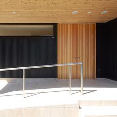 玄関/ポーチ/バリアフリー/インテリア/北欧インテリア/土間/... 縁側でのんびり暮らす家 バリアフリー玄関…