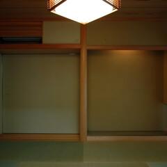 インテリア/和モダン/和室/和風/縁側/床の間/... ぐるりと廻れる和室のある家 縁側と和室と…