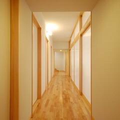 インテリア/住まい/不動産・住宅/北欧インテリア/ポリカーボネート/新築/... 縁側でのんびり暮らす家 中空ポリカーボネ…