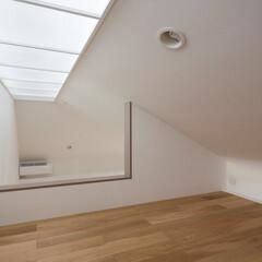 インテリア/北欧インテリア/ロフト/トップライト/ハイサイドライト/収納/... コンパクトで可愛い家 光あふれるロフト、…