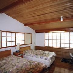 インテリア/北欧インテリア/住まい/新築/不動産・住宅/建築/... 障子の光の家 優しい光のある寝室 (1枚目)