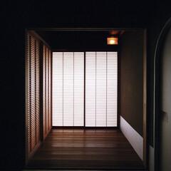 茶室/次の間/縁側/障子/自然素材/和室/... 茶室、次の間