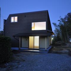 自然素材/左官/和モダン/木製建具/住まい/不動産・住宅/... 丘の上の木薫る家 (1枚目)