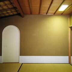 インテリア/和風/茶室/新築/自然素材/床の間/... 茶室