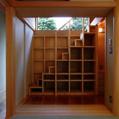 インテリア/収納/家事/床の間/壁面収納/階段収納/... 南に中庭のある家 魅せる床の間、壁面収納…