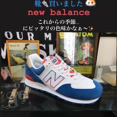 お家でもオシャレ/new balance/靴/夏色/ニューバランス/m574 new balance M574 夏向き…