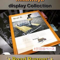 玄関あるある/世田谷ベース/キャラクター/ロードランナー/ROAD RUNNER/アメリカン雑貨/... 世田谷ベース的leather life♬…