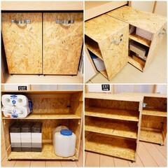 ストック収納/OSB合板/押入れ/押入れ収納/DIY/収納/... 久しぶりのDIY❗ かさばる物をストック…
