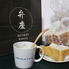 パン/SOHOLMCAFE/おうちカフェ/ふわふわ食パン/弁慶Bakery/リミとも部/... 寒くなってきたからスープにパンって日が多…(1枚目)