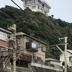 鎌倉/江ノ電 🌈🌻🌺🌴🏖  ∑(๑ºдº๑)!!崖の上…