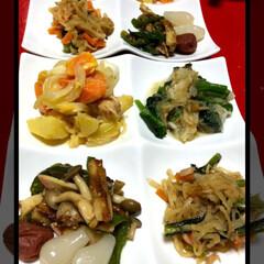 夕食 今夜の夕食です🥢 麻婆茄子 ジャーマンポ…(2枚目)