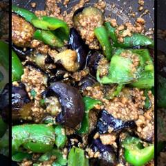 夕食 今夜の夕食です🥢 麻婆茄子 ジャーマンポ…(1枚目)