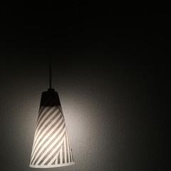間接照明/賃貸/超簡単/ライト/照明/SMD電球ペンダントライト/... ダイソーのSMDペンダントライトを、家に…