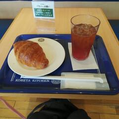 ベーカリーカフェ/カフェ この間病院行く前に神戸屋キッチンで食べた…