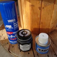 アイアンペイント アイアンブラック(その他塗料、塗装剤)を使ったクチコミ「皆様いかがお過ごしですか? 梅雨明けした…」(2枚目)