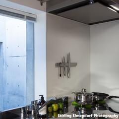 キッチン/家電/建築/建築家/インテリア 『 未来のキッチン 』 水や油を鍋やフラ…