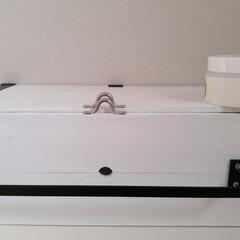ソリッドカラー  SC-01ホワイト   和信ペイント(Washi Paint)(ニス、ステイン)を使ったクチコミ「和信ペイント株式会社様より リゾットカラ…」(2枚目)