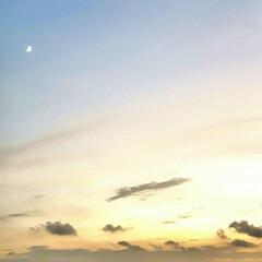 月/夕やけ 🌴🌺🍧SUMMER🍧🌺🌴  🌺今日の夕や…
