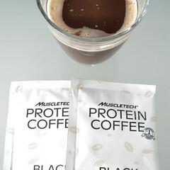 プロテインコーヒー | マッスルテック(その他プロテイン)を使ったクチコミ「プロテインコーヒーのモニターをさせて頂き…」