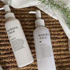 MARQUE-PAGE マルクパージュ クレンジング・洗顔・美容保湿ゲル 3セット   MARQUE-PAGE(スキンケアトライアルセット)を使ったクチコミ「自然派スキンケア「マルクパージュ」を お…」(3枚目)