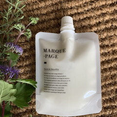 MARQUE-PAGE マルクパージュ クレンジング・洗顔・美容保湿ゲル 3セット   MARQUE-PAGE(スキンケアトライアルセット)を使ったクチコミ「自然派スキンケア「マルクパージュ」を お…」(2枚目)