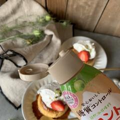 今日のおやつ/プリン/お菓子づくり/おうち時間充実/おうち時間/おうちカフェ おやつにプリン🍮つくりました。  ラカン…(2枚目)