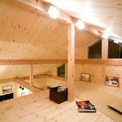 国産材/桧/檜/ヒノキ/杉/スギ/... 純国産・オール無垢素材の木製キットガレー…