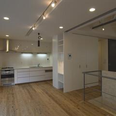 収納/階段/ワンルーム/回遊性 2階建てワンフロア40ヘーベーのおすまい…