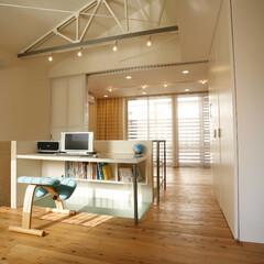 玄関/子供部屋 あるハウスメーカーの2階建て建物のスケル…
