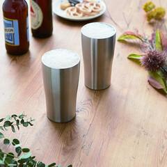 タンブラー/真空/ステンレス/便利/モノトーン/アウトドア/... 冷たい飲み物も、冷たさ持続~~ 暖かい飲…