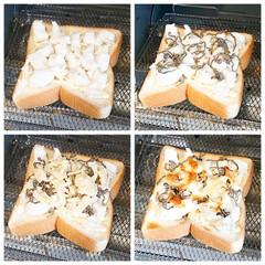 オーブントースター こんがり倶楽部 EQ-AG22-BA(ブラック) | 象印(トースター)を使ったクチコミ「おはようございます  今日の朝ごはん 塩…」(2枚目)